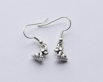 Dog Earrings, Tiny Dog Earrings, Puppy Earrings, Dog Jewelry, Dog Jewelry, Gifts for Dog Lovers, Dog Gifts