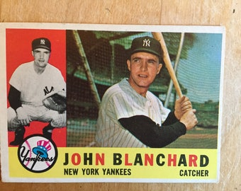 John  Blanchard baseball card