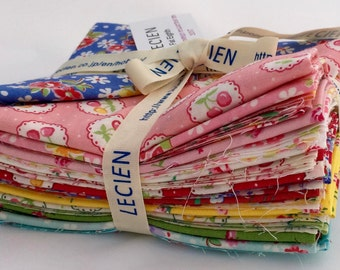 Lecien Old New 30's Spring Fabric Collection 2017 , SKU# 3055L-7 - Licien, japan