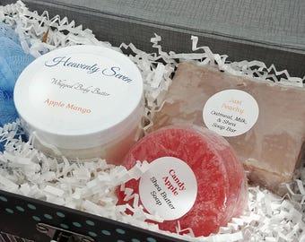 Bath & Body Gift Set in Keepsake/Trinket Box