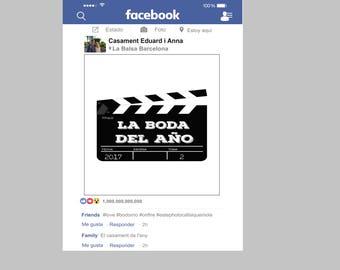 Frame Facebook Carton