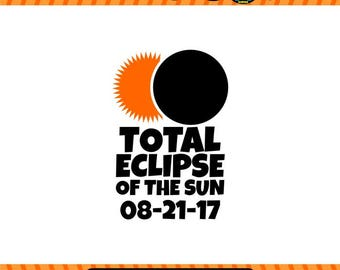 Solar Eclipse SVG Solar SVG, Eclipse SVG, space svg, Cricut Files, Silhouette Files, Scan n Cut Files, digital files, Sun, Moon, Solar