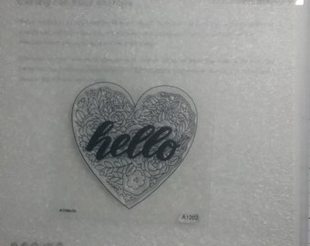 A1202... Heartfelt Hello Sentiments  by Close To My Heart