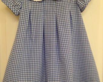 Babies'/Toddler Dress, Alice in Wonderland Dress, Baby/Toddler Girl's Gingham Dress
