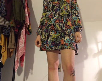 70's Handmade Mod dress size 4-6