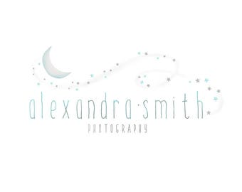 Logo Design Branding, Photography Logo, Small Business Logo, Custom Logo, Logo Design Package, Affordable Logo, Moon Logo, Logo Branding