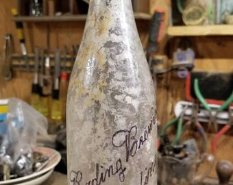 1900s Reading Brewing Company Beer Bottle