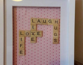 Scrabble Word Art Pictures