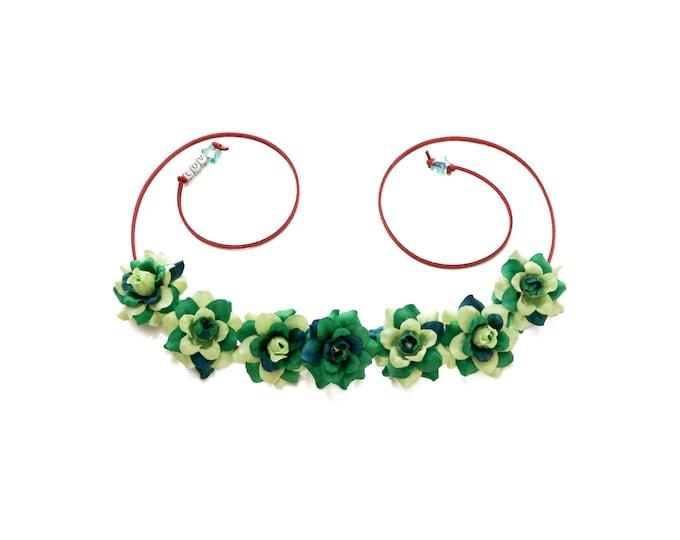 Poison Ivy Flower Crown