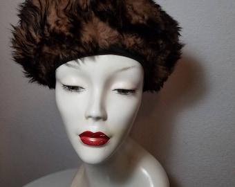 FREE  SHIPPING   Lamb  Fur  Hat