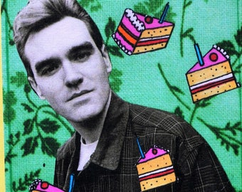 Ltd Edition Morrissey A6 Birthday Card, signed by the artist [EK!]
