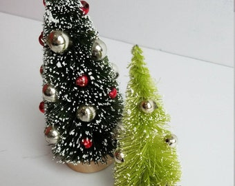 Set of 2 Bottlebrush Trees