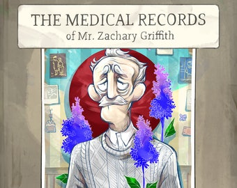 Comic: The Medical Records of Mr. Zachary Griffith