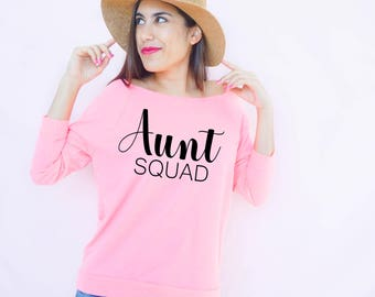 Aunt Squad, Aunt Shirt, Auntie Shirt, Auntie to be, Aunt T Shirt, Auntie, Pregnancy Announcement, Aunt Squad T Shirt, Auntie T Shirt