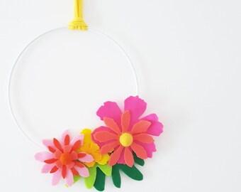 Decorazione cameretta fiori primavera