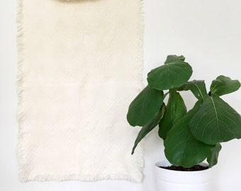 Vintage Throw Blanket / Table Blanket