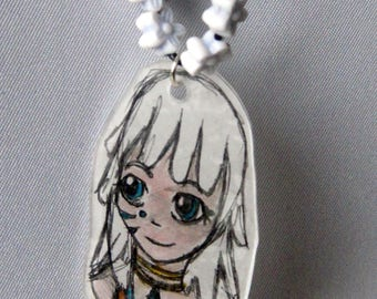child necklace - Princess - Kida - Atlantis - cartoon