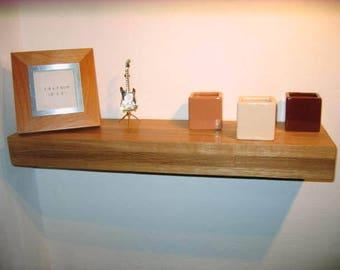 Large Oak floating Shelves 92 x 16 x 7 cm