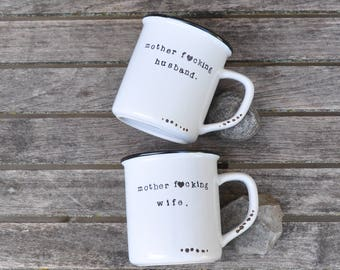Couples mugs wedding gift his and hers mugs couples gift coffee mug couples mug set anniversary gift best friend mugs funny couples mugs