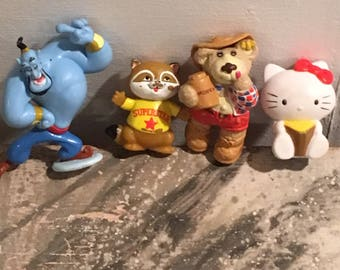 Cartoon Figurines Lot