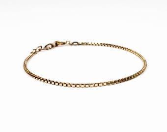 Venezia thin – bracelet in silver, gold or gold