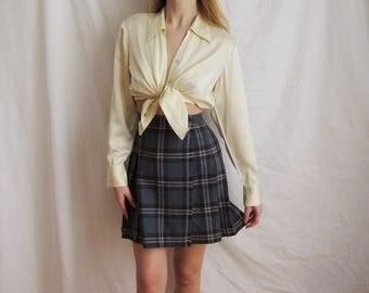 90s School Girl Skirt Small