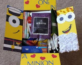 Despicable Me Care Package Flaps