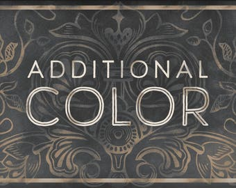 Logo add-on: Add an additional color to your order