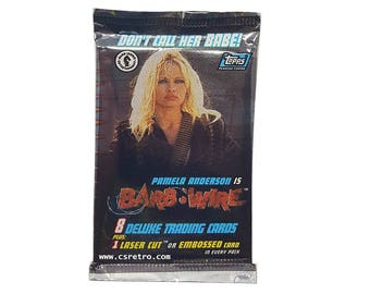 Pam Anderson BARB WIRE Trading cards base set and inserts