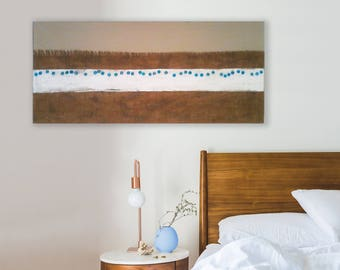 Wall art painting. Modern painting on canvas. Material picture. Minimalist modern art painting. Bedroom wall art painted. Abstact wall art