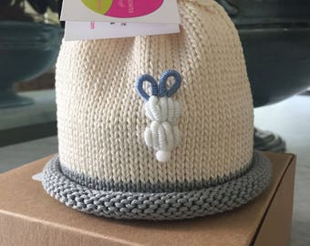 Baby Bunny Boy Colorful Crown Baby Hat