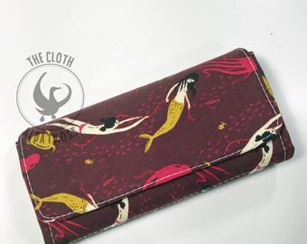 Mermaid Clutch Wallet