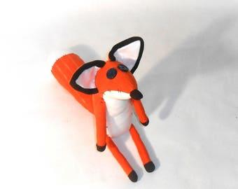 FOX Plush Toy Little Fox Plush Animal Unique Animals Toys Stuffed Fox Toy Soft Toys fox softie