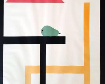 Danish furniture etsy for Danish design furniture replica uk