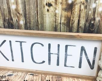 10x24 | KITCHEN sign