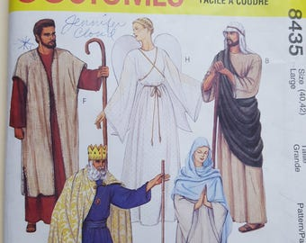 McCall's Costume Pattern Size Medium or Large #8435