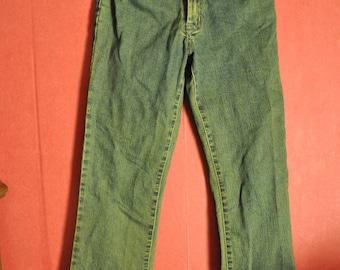 Vintage 90s jeans dirtywash BootCut Jeans xxs-xs
