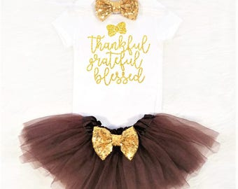baby girl thanksgiving outfit girls thanksgiving outfit toddler girl thanksgiving outfit thankful grateful blessed outfit glitter outfit