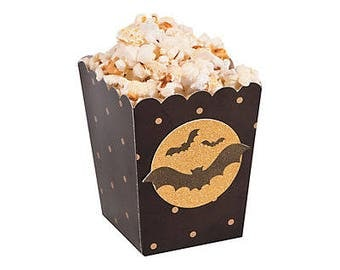 Halloween Party popcorn boxes / halloween treat boxes / treat boxes /