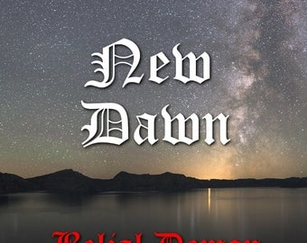 NEW DAWN - cosmic, ritual, occult music by Belial Demon,  ambient, ritual music from Finland