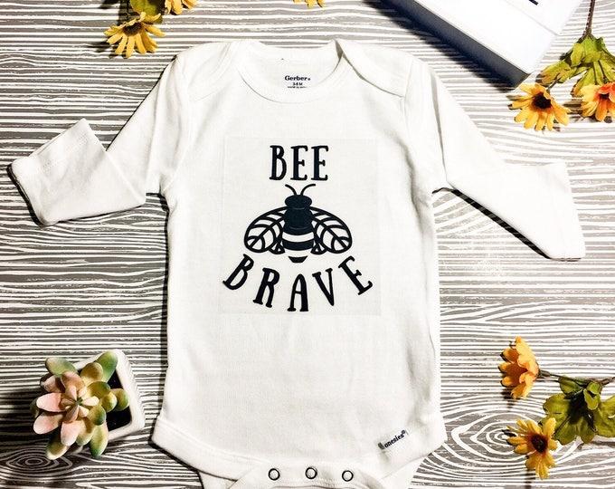 Bee Brave Onesie