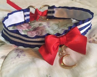 Senshi Shoujo ~ ribbon collar