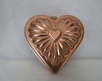 Heart shape molds etsy for Heart shaped decorations home