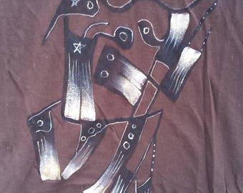 Hand Painted Shirt