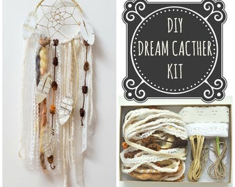 DIY Dream Catcher Craft Kit.  The Perfect Birthday Gift of 2018 for Girls Children or Adults