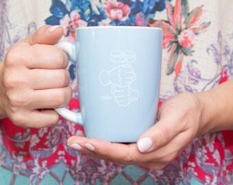 Blue ASL Coffee Mug 12.5oz