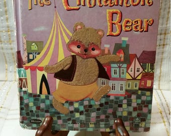 The Cinnamon Bear   Vintage Tell-a-Tale Book