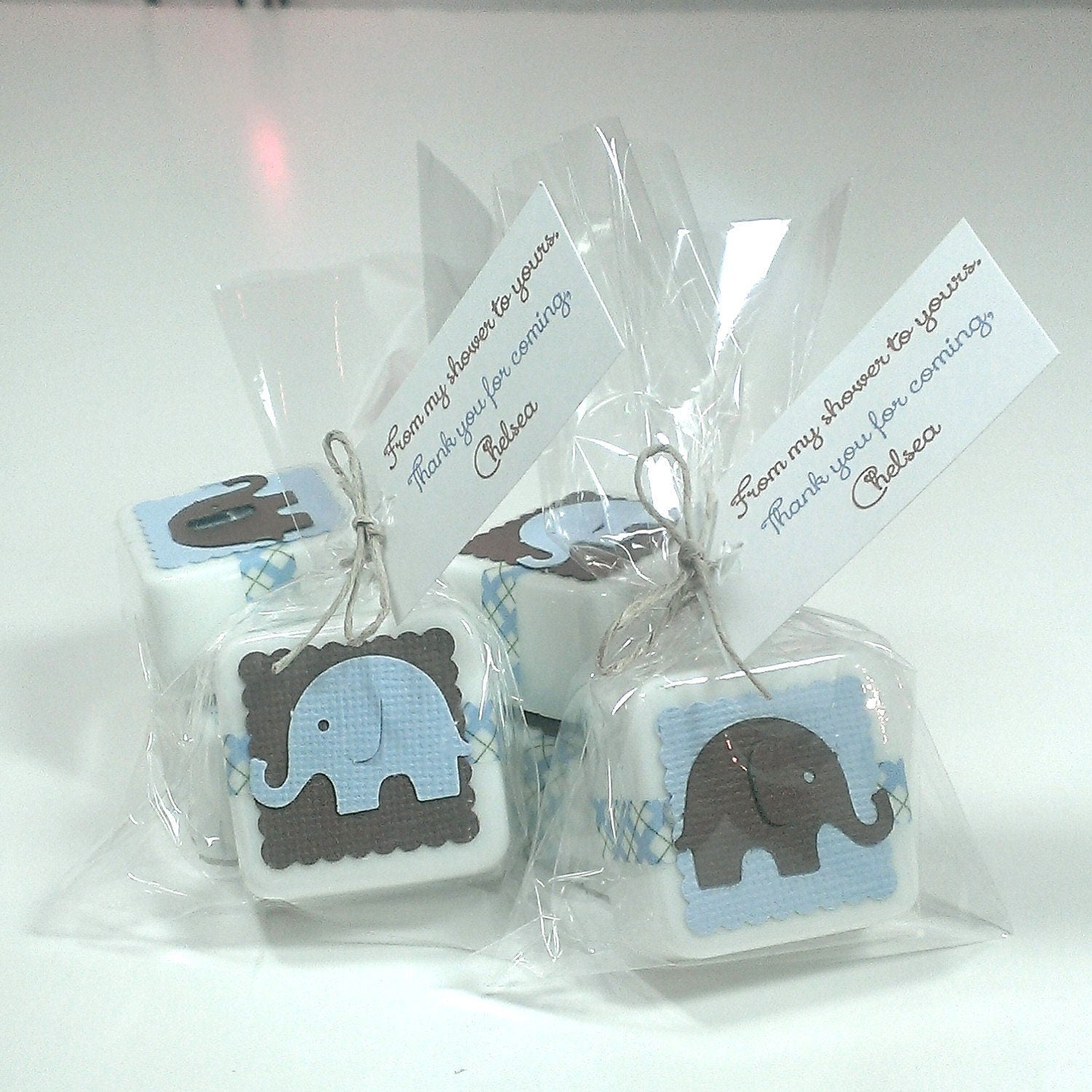 elephant baby shower favors baby shower favor soaps baby