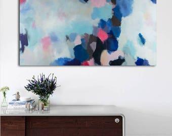 Abstract Art Print, Large Wall Art, Abstract Art, Bedroom Art Print, Print on Canvas, Art Print for living Room
