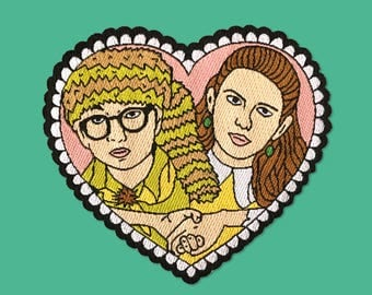 Sam and Suzy Moonrise Kingdom Inspired Patch